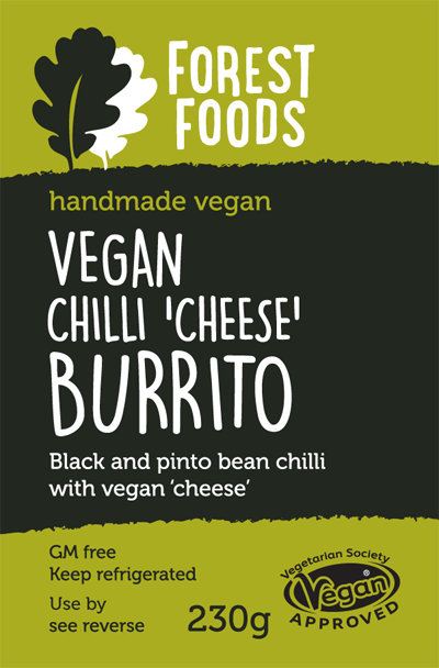 Vegan Chilli Cheese Burrito